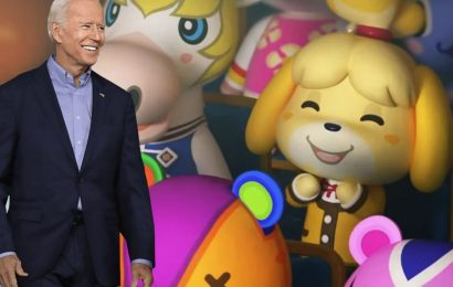 Joe Biden Takes Aim At Gamers (And Their Knees) In Animal Crossing Promotion