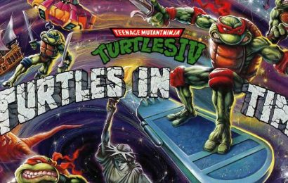 Relive Big Apple, 3AM With Turtles In Time Action Figures