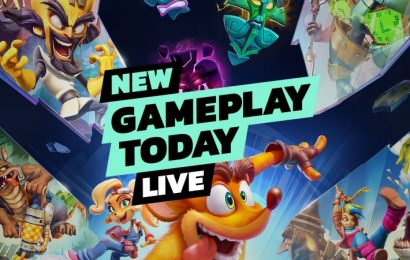 New Gameplay Today Live – Crash Bandicoot 4: It's About Time