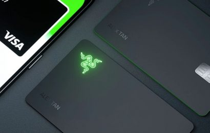 Razer Visa Card With An LED Logo? Sure Why Not
