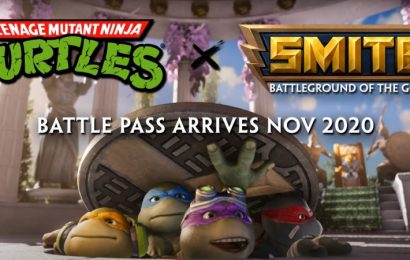 The Teenage Mutant Ninja Turtles Are Coming To Smite