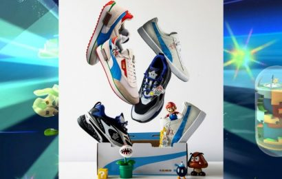 Nintendo And Puma Team Up For New Super Mario 3D All-Stars Shoe Line
