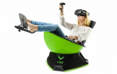 Cas & Chary Present: Checking Out the YAW VR Motion Simulator