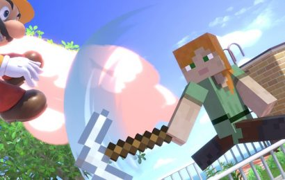 Steve From 'Minecraft' Joins the 'Super Smash Bros. Ultimate' Roster