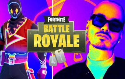 Fortnite J Balvin concert time and encore performances for Fortnitemares event