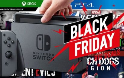 Early PlayStation, Xbox, Nintendo Black Friday deals: Console bundles, top games on offer