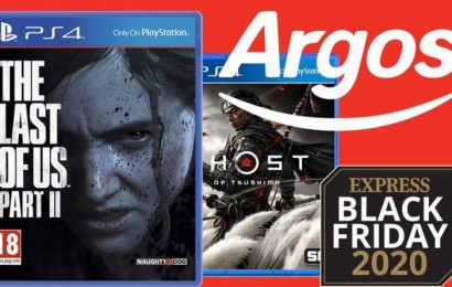 Argos slash prices of biggest PS4 games of the year in Black Friday sale