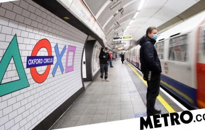 London Tube signs have been turned into PS5 symbols for launch