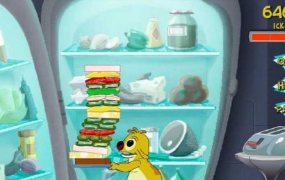 Gone In A Flash: Lilo And Stitch: 625 Sandwich Stacker Is A Wonderful Blast From The Past
