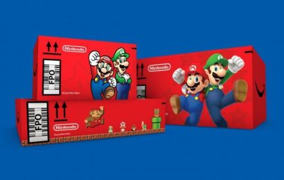 Amazon Is Shipping Packages In Super Mario Bros. Boxes For The Month Of November