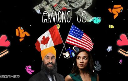 AOC And Canadian MP Raise $200K For Charity In Among Us Stream