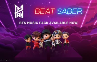 Beat Saber's BTS Music Pack is Out Now
