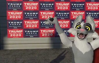 UwU Furry Coopertom Recreates Giuliani's Failed Four Seasons Landscaping Press Conference In VR
