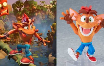 Crash Bandicoot's Nendoroid Is The Cutest Thing You'll See Today