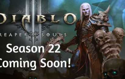Diablo 3 Season 22 Begins November 20 After Extended PTR
