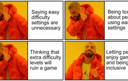 Easy Mode Is Essential For Me And I Shouldn't Have To Defend It