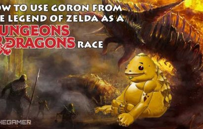 How To Use Goron From The Legend Of Zelda As A D&D Race