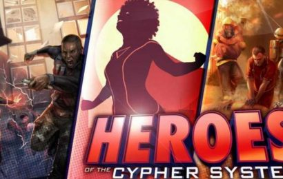 Heroes Of The Cypher System Kickstarter Heroically Funds In An Hour