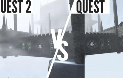 In Death: Unchained Quest 2 vs Quest 1 Graphics Comparison