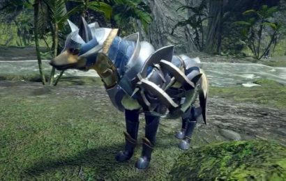 Monster Hunter Rise Footage Reveals New Palamute Gear Designs