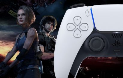 Resident Evil 3 Causes The PS5's DualSense Controller To Change Color