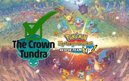 Done With The Crown Tundra? Play Pokemon Mystery Dungeon DX