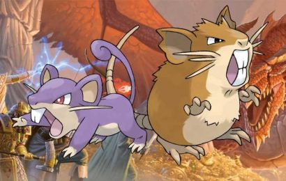 How To Turn The Rattata Line From Pokemon Into D&D Monsters