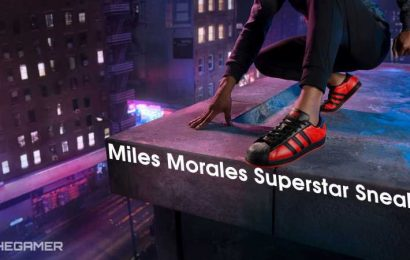 Check Out These Miles Morales-Inspired Adidas Sneakers