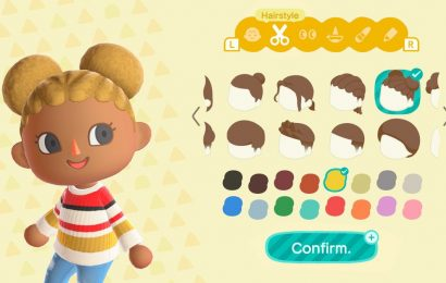 Animal Crossing finally improves its hair options