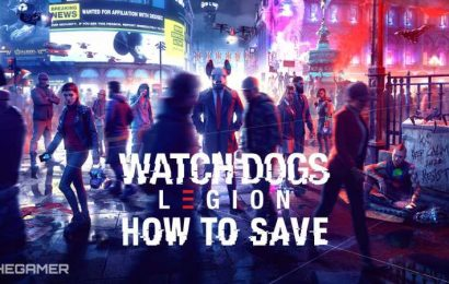 Watch Dogs: Legion: How To Save