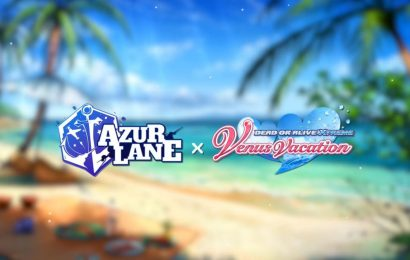 Tawdry Gacha Game Azur Lane Crosses Over With Dead Or Alive