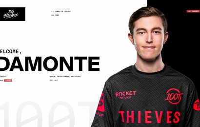 LoL: 100 Thieves Finalize 2021 Roster With Damonte Signing