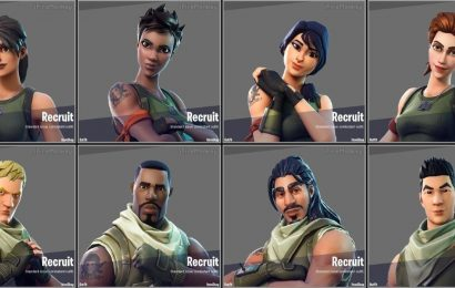 Fortnite: Epic Games Teases The Return Of Chapter 1 Default Skins