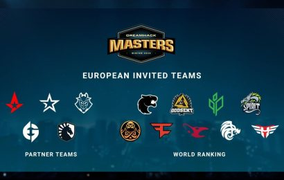 DreamHack unveil invited teams for DreamHack Masters Winter