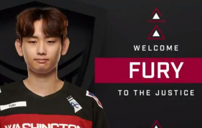 Fury signs for the Washington Justice – Daily Esports