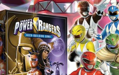 Go Go Power Rangers! (Note: By 'Go Go' We Mean Build A Deck Of Cards To Fight Monsters)