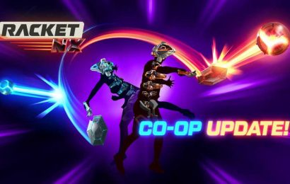 Racket: Nx Co-op Update Launches Next Week with Cross-play