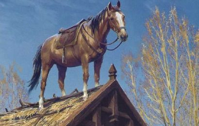 This Horse In Skyrim Gives The Witcher 3's Roach A Run For His Money