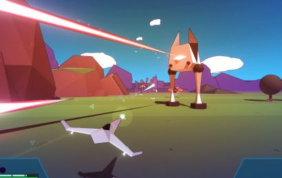 Whisker Squadron is a procedurally generated Star Fox game with kitty cat pilots