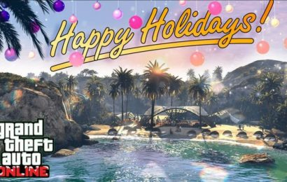 GTA Online gets into Christmas spirit, adds snow, Xmas gear and free car gift