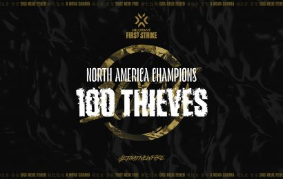 100 Thieves Walks Away From First Strike as Champions of North America