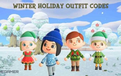 Animal Crossing New Horizons: Winter Holiday Outfit Codes