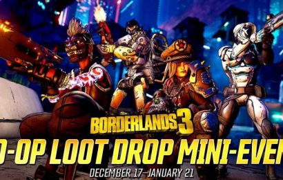 Borderlands 3 Offering More Rewards During Co-op Loot Drop Mini-Event