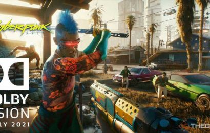 Cyberpunk 2077 Will Get Dolby Vision Support In Early 2021