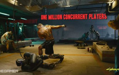 Cyberpunk Hits 1 Million Concurrent Players On Steam