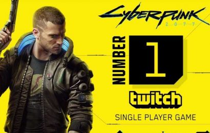 Cyberpunk Breaks Twitch Viewership Record For A Single-Player Game