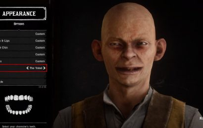 Someone Made Gollum In Red Dead Redemption 2