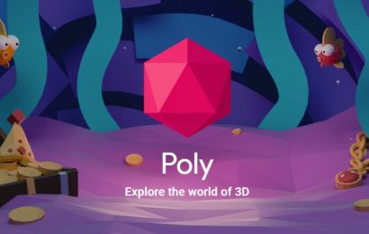 3D Object Library Google Poly is Shutting Down
