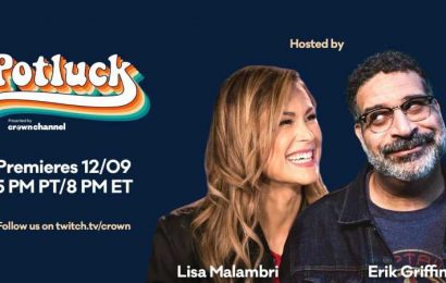 """Prime Gaming Launches Potluck, A """"Special Year-End Variety Show"""" Featuring Erik Griffin And Lisa Malambri"""