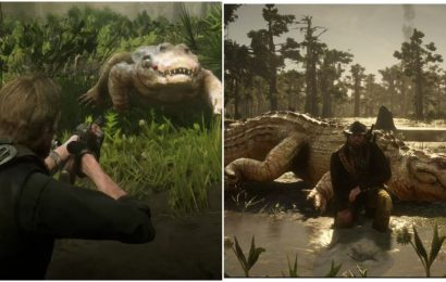 Red Dead Redemption 2: Legendary Alligator Location (& How To Beat Him)
